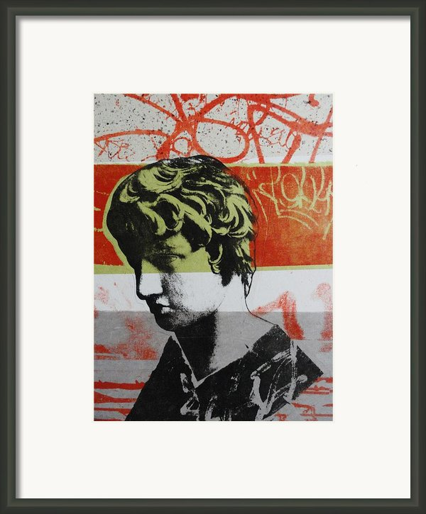 Antinous V Framed Print By Carmine Santaniello