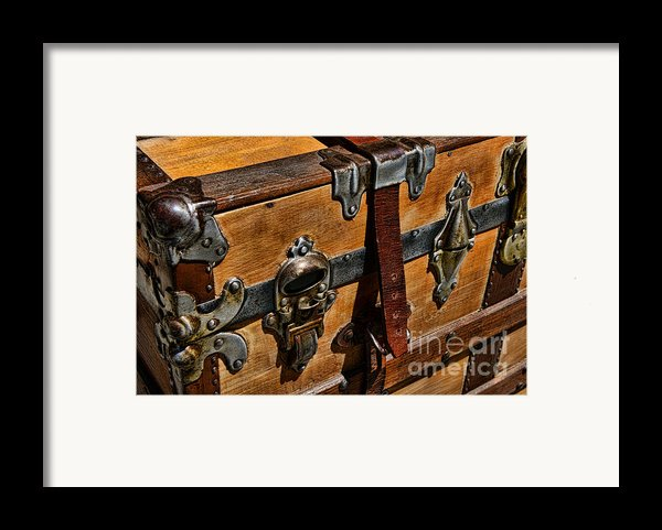 Antique Steamer Truck Detail Framed Print By Paul Ward