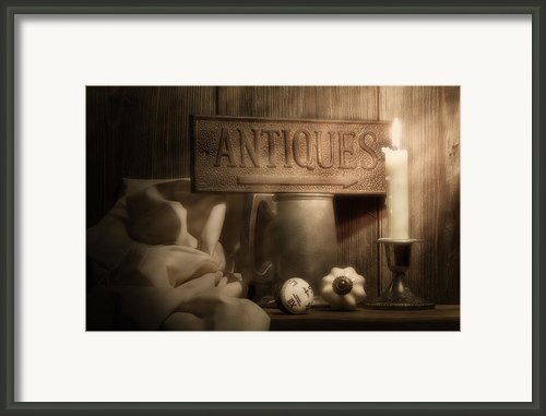 Antiques Still Life Framed Print By Tom Mc Nemar