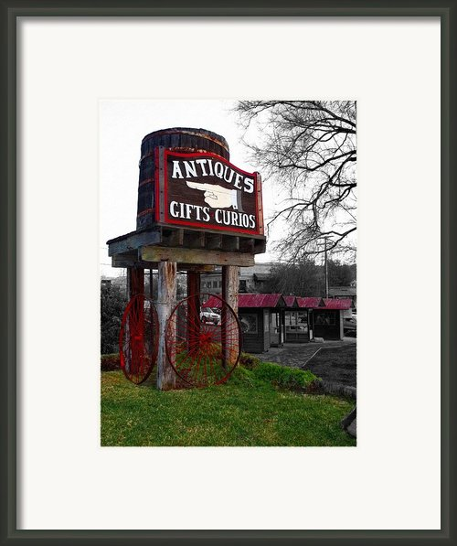 Antiques... That Way Framed Print By Glenn Mccarthy Art And Photography