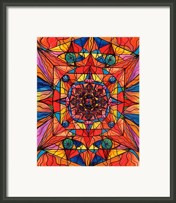 Aplomb Framed Print By Teal Eye  Print Store