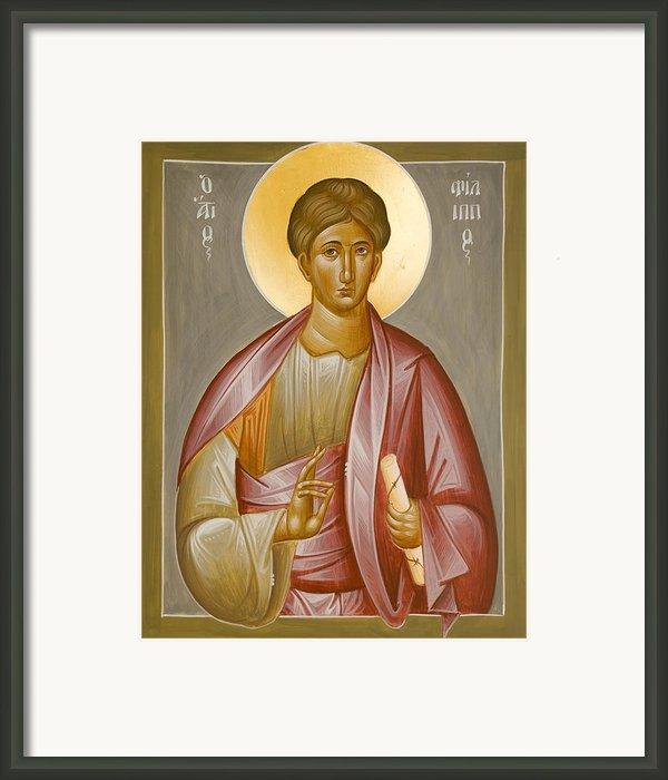 Apostle Philip Framed Print By Julia Bridget Hayes