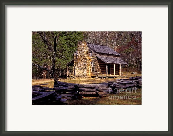 Appalachian Homestead Framed Print By Paul W Faust -  Impressions Of Light