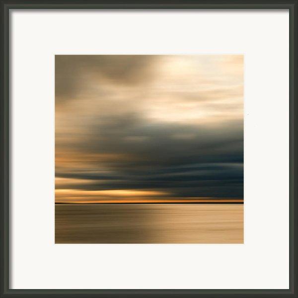 Approaching Evening Storm Framed Print By Bob Retnauer