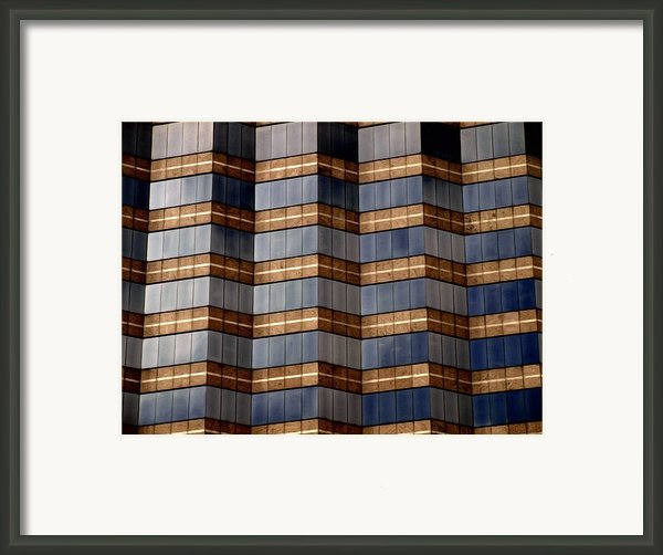 Architecture 2 Framed Print By Tom Druin