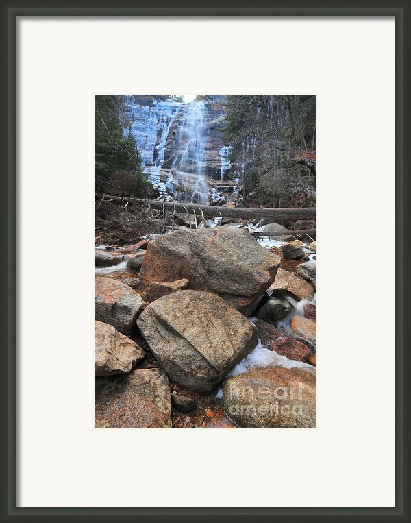 Arethusa Falls Framed Print By Catherine Reusch  Daley