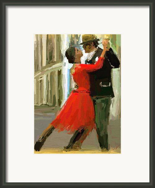 Argentina Tango Framed Print By James Shepherd