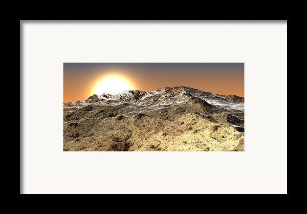 Arid Framed Print By Kevin Trow