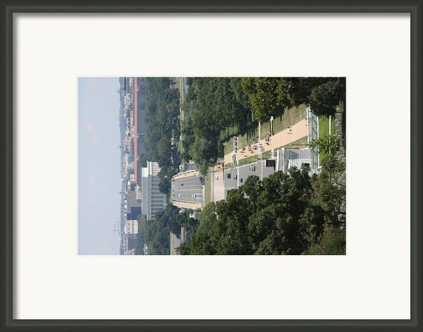 Arlington National Cemetery - View From Arlington House - 12125 Framed Print By Dc Photographer