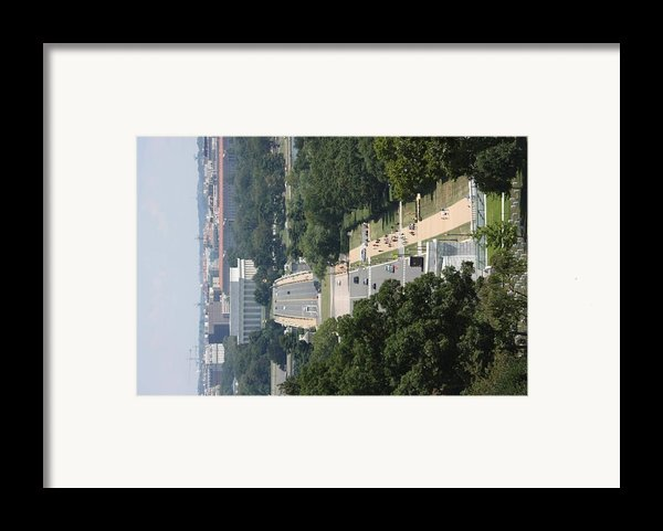 Arlington National Cemetery - View From Arlington House - 12125 Framed Print By Dc Photographer