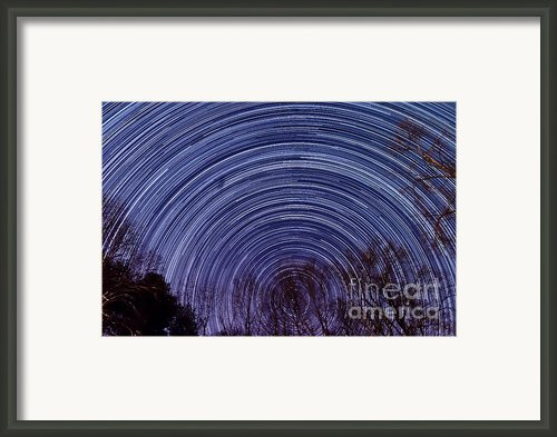 Arnold Startrails Framed Print By Benjamin Reed