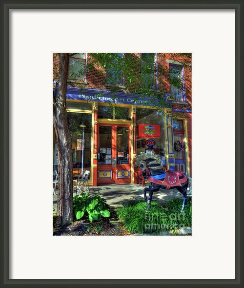 Art And Coffee Framed Print By Mel Steinhauer
