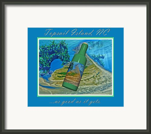 As Good As It Gets Framed Print By Betsy A Cutler East Coast Barrier Islands