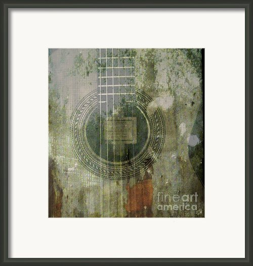 As In The Classical Measure Of Time Framed Print By Steven  Digman