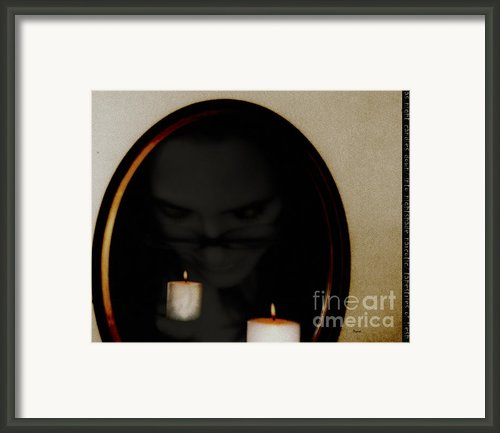 As The Night Candles Down Framed Print By Steven  Digman