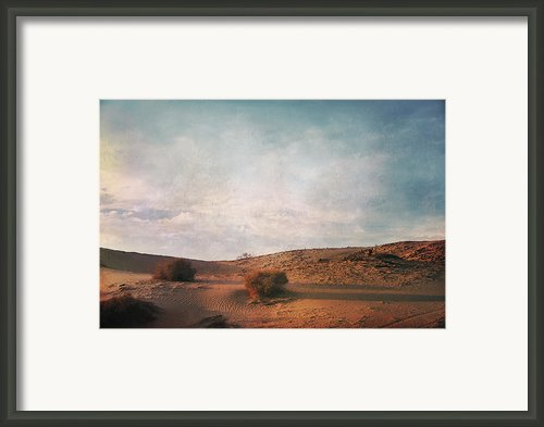 As The Sand Shifts So Do I Framed Print By Laurie Search