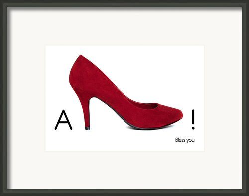 Ashoe - Bless You Framed Print By Natalie Kinnear
