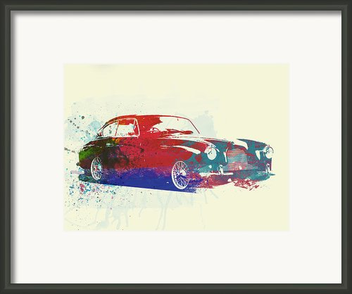 Aston Martin Db2 Framed Print By Irina  March