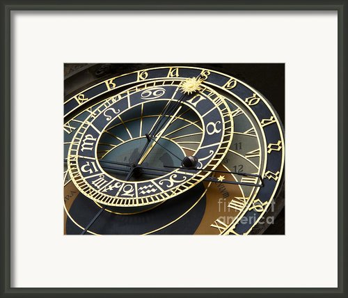 Astronomical Clock Framed Print By Ann Horn