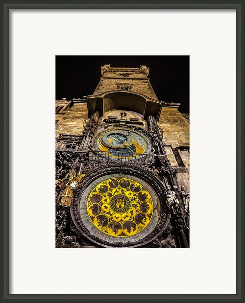 Astronomical Clock Framed Print By Matthew Gulosh