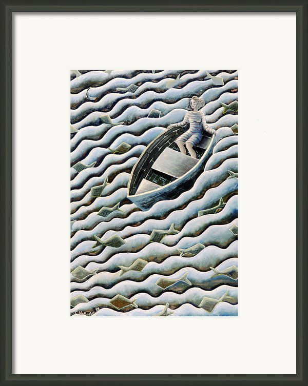 At Sea Framed Print By Celia Washington