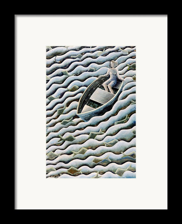 At Sea Framed Print By Celia Washington