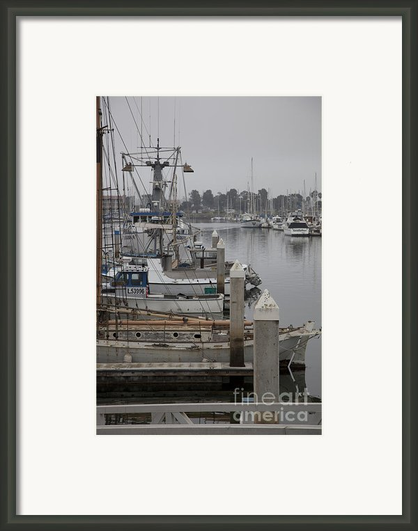 At The Dock Framed Print By Amanda Barcon