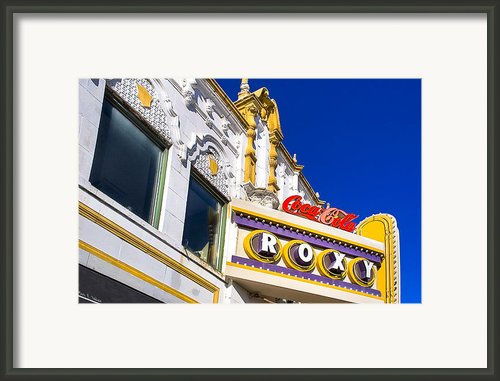 Atlanta Roxy Theatre Framed Print By Mark E Tisdale