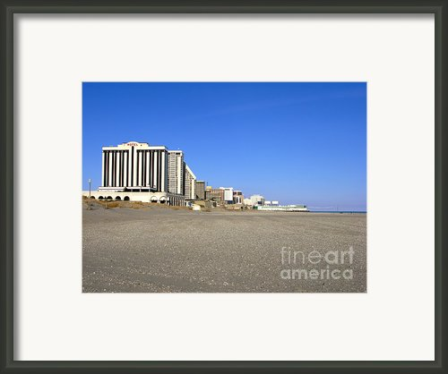 Atlantic City New Jersey Framed Print By Olivier Le Queinec