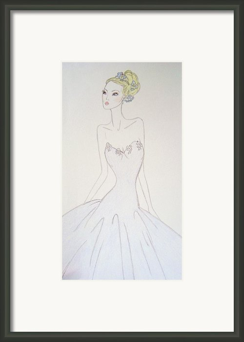 Au Printemps Framed Print By Christine Corretti