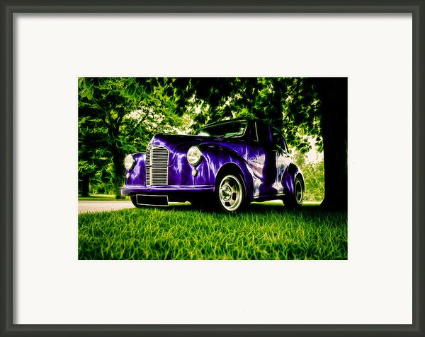 Austin Hot Rod Framed Print By Motography Aka Phil Clark