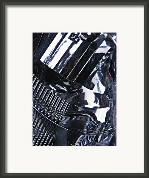 Auto Headlight 10 Framed Print By Sarah Loft