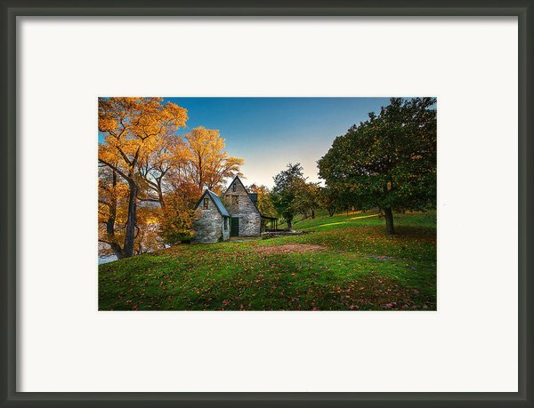 Autumn Bliss Framed Print By Michael Schurmann
