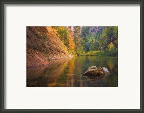 Autumn Bliss Framed Print By Peter Coskun