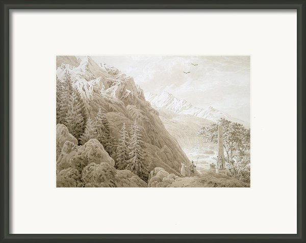 Autumn Framed Print By Caspar David Friedrich