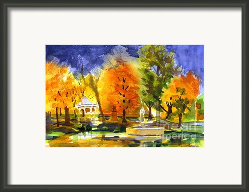 Autumn Gold 2 Framed Print By Kip Devore