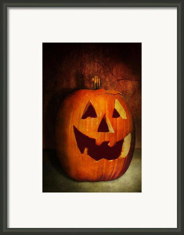 Autumn - Halloween - Jack-o-lantern  Framed Print By Mike Savad