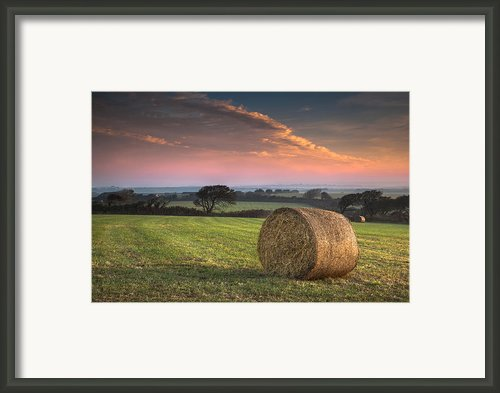 Autumn In Cornwall Framed Print By Christine Smart