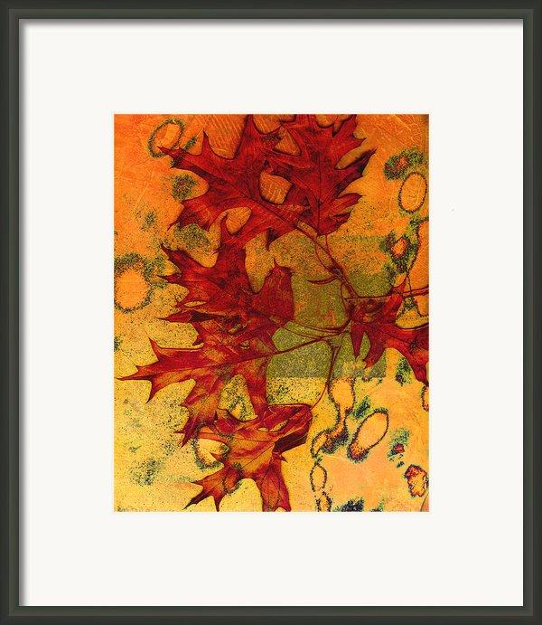 Autumn Leaves Framed Print By Ann Powell
