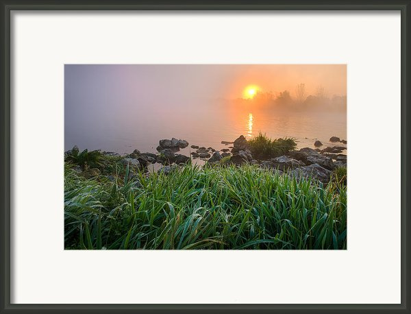Autumn Morning Ii Framed Print By Davorin Mance