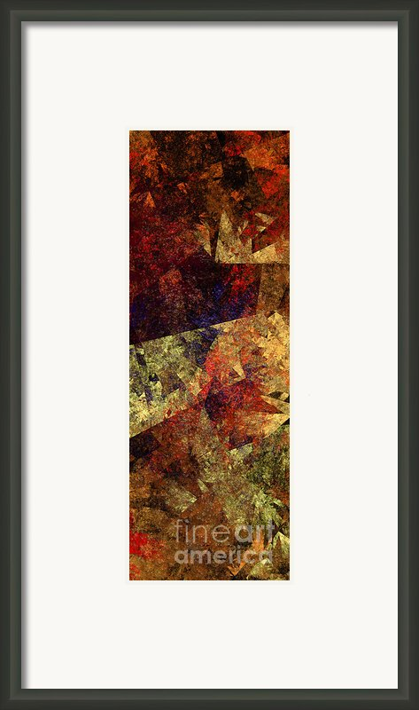 Autumn Road Framed Print By Andee Photography