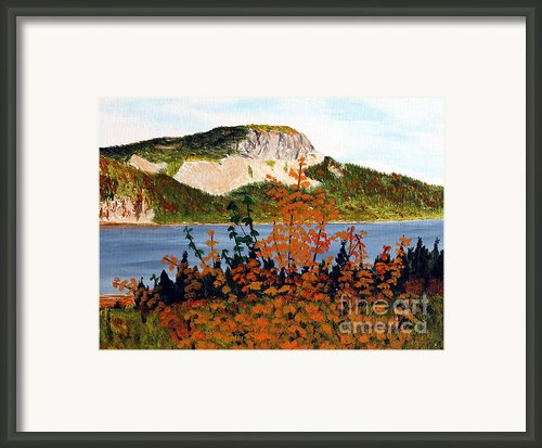 Autumn Sunset On The Hills Framed Print By Barbara Griffin