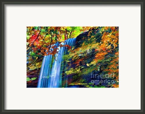 Autumns Calm Framed Print By Darren Fisher