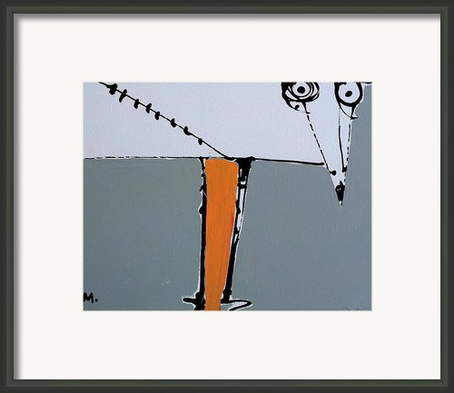 Avis No 3 Framed Print By Mark M  Mellon
