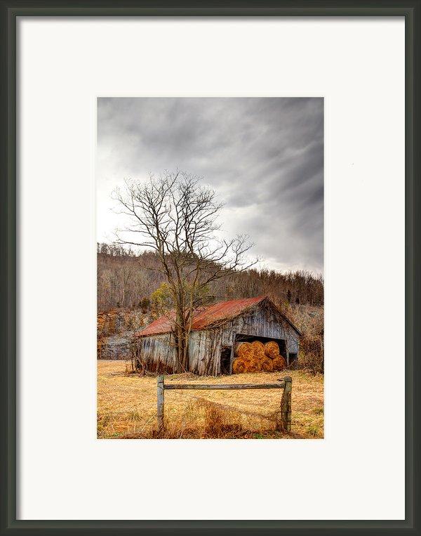 Awaiting Spring Framed Print By David  Jones