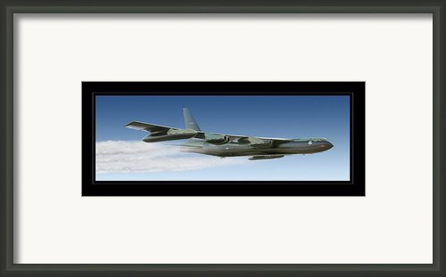 B-52 Stratofortress Framed Print By Larry Mcmanus