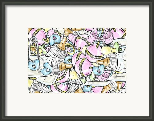 Baby On The Way Framed Print By Trish Tritz