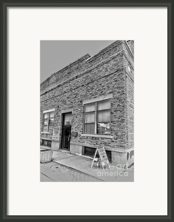 Bacon Building Framed Print By Alan Look
