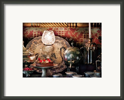 Baker - Ready For The Party Framed Print By Mike Savad