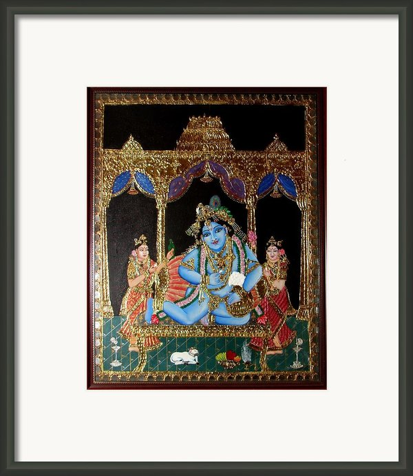 Balakrishna Framed Print By Jayashree